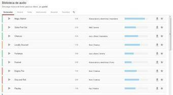 Youtube lanza biblioteca de música de fondo gratis, para usar en cualquier proyecto, no solo vídeos! | notícies TIC | Scoop.it