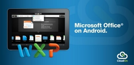Get MS Office On Your Android Tablet For Free With CloudOn   PowerPoint Presentation   Cloudon   Scoop.it