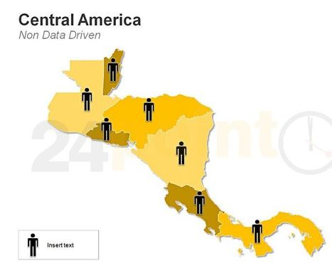 Demographic Central America Map for PowerPoint Presentations | PowerPoint Presentation Tools and Resources | Scoop.it