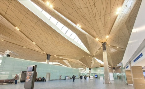 Grimshaw's Sculptural, Light-Filled Pulkovo Aiport Opens in St. Petersburg | The Architecture of the City | Scoop.it