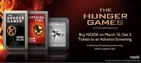 Barnes & Noble offre un e-book d'Hunger Games pour un Nook acheté   LibraryLinks LiensBiblio   Scoop.it