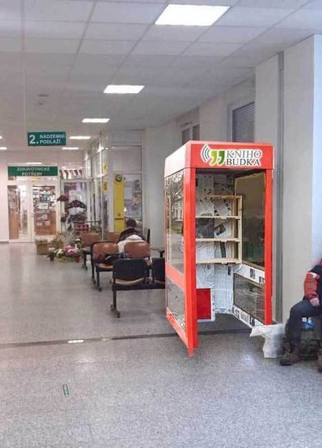 Unconventional libraries sprout up around Prague | Libraries in the wild | Scoop.it