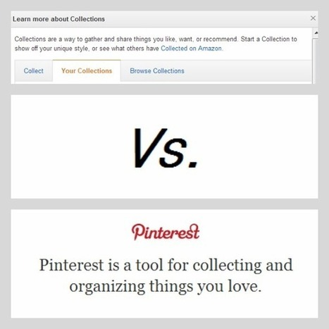 Pin-Off: Amazon Collections Vs. Pinterest - 'Net Features - Website Magazine | What's Up With | Scoop.it