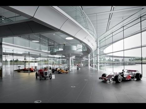Visite virtuelle du centre McLaren de Woking - Autoplus.fr | Visites virtuelles | Scoop.it