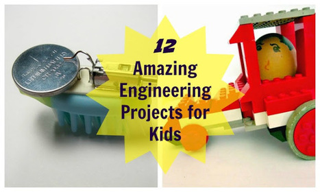 12 Amazing Engineering Projects for Kids | For Whom the Bell Tolls | Scoop.it