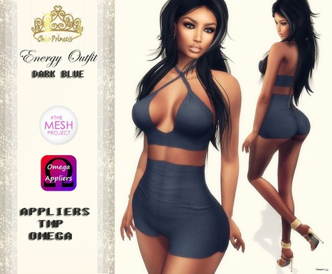 Energy Outfit with Mesh Body Appliers Group Gift by Chic Princess | Teleport Hub - Second Life Freebies | Second Life Freebies | Scoop.it