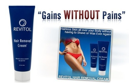 Revitol hair removal cream review | Unwanted Hair Removal | Scoop.it