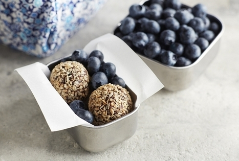Blueberry Cocoa Bites | Cuisine | Scoop.it