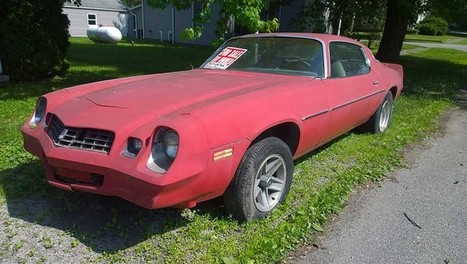 2nd gen classic 1979 Chevrolet Camaro w/ 350 For Sale - CamaroCarPlace | Automobiles | Scoop.it