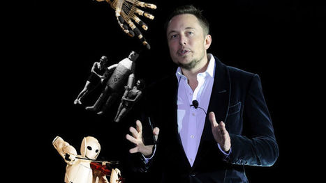 Elon Musk: We Need Universal Income Because Robots Will Steal All the Jobs   Business Model Design   Scoop.it