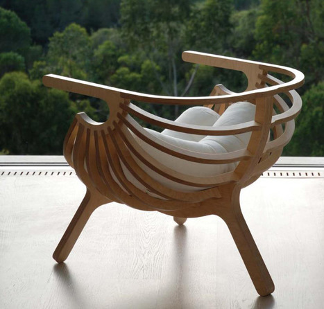 marco sousa santos: shell chair   CRAW   Scoop.it