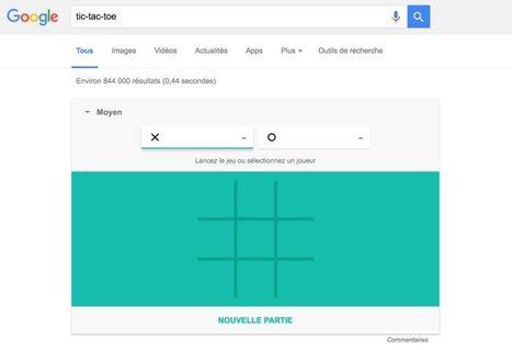 Google vous permet de jouer au Solitaire ou au Morpion avec une simple recherche | Freewares | Scoop.it