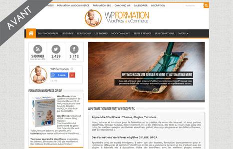 Un nouveau look pour WP Formation | WordPress France | Scoop.it