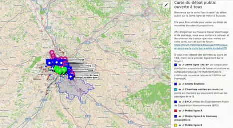 Carte du débat public OUVERTE À TOUS- uMap | URBANmedias | Scoop.it