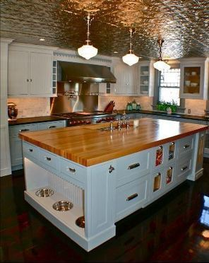 Kitchen Cabinet Island for Dogs and Cats | Up Country | Scoop.it
