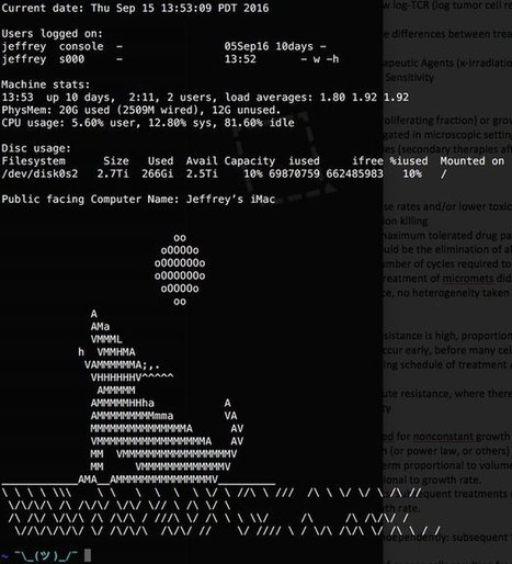 Tweet from @jeffreyjizzle | ASCII Art | Scoop.it