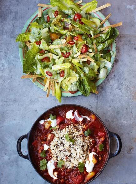 Veggie Chilli | Vegetables Recipes | Jamie Oliver Recipes | My Vegan recipes | Scoop.it