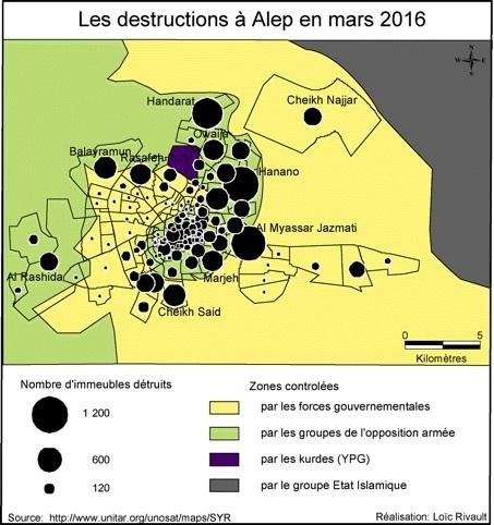 Syrie: la stratégie de la destruction (La Vie des idées)   Géographie des conflits   Scoop.it