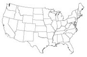 United States Boundary Outlines (SVG format) - Land Surveyors United | Geospatial Industry | Scoop.it