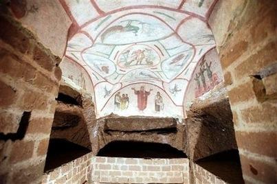À Rome, les catacombes de Priscille ont retrouvé tout leur éclat - La Croix | Découvertes archéologiques | Scoop.it
