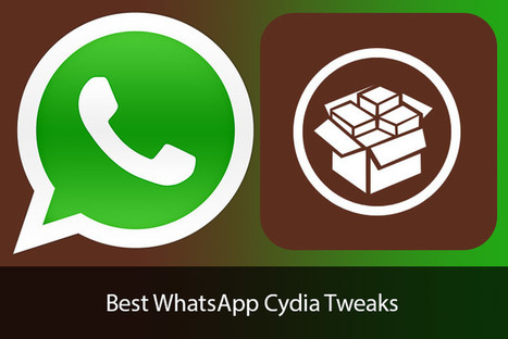 Best WhatsApp Cydia Tweaks for iOS 8: Boost Your WhatsApp Time With Amazing Enhancements | Cydia Tweaks | Scoop.it