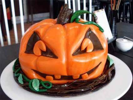 20 Pumpkin Cake Designs for Halloween Season | Visual Inspiration | Scoop.it