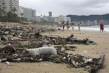 Chaos as floods submerge Mexico's Acapulco, death toll rises | Sustain Our Earth | Scoop.it