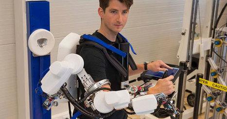 Un exosquelette pour commander à distance les robots | Tout est relatant | Scoop.it