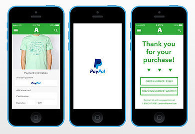 PayPal introduces one touch mobile payments | Banking | Scoop.it