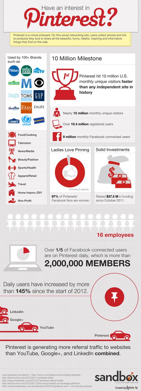 Pinterest – Infografik über eines der schnellstwachsenden Online-Netzwerke | karrierebibel.de | Alles rund um Social Media | Scoop.it