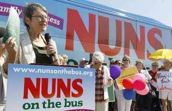 PHOTOS: Catholic Nuns Protesting GOP Budget Cuts Visit GOP Rep. King's Office | Gender, Religion, & Politics | Scoop.it