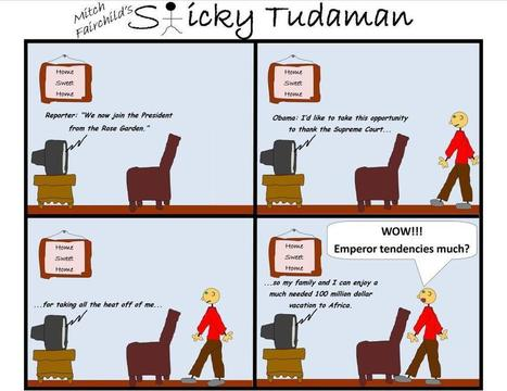 Sticky Tudaman: Thankful President | Political Humor | Scoop.it