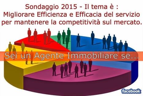Benvenuti nel blog di Raffaele Racioppi: Sei un Agente Immobiliare? ...questo sondaggio è per te! | Marketing Immobiliare | Scoop.it
