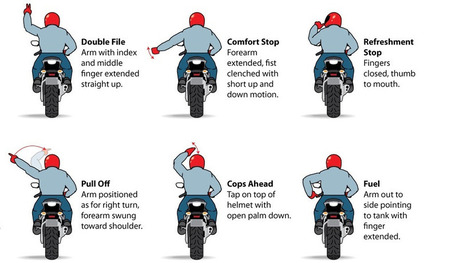 12 Motorcycle Hand Signals You Should Know | Northern California Personal Injury News | Scoop.it