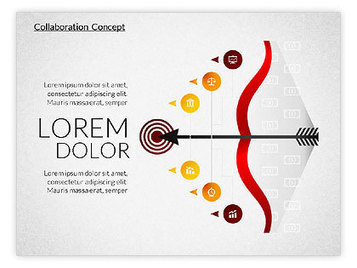 Collaboration Concepts | PowerPoint Diagrams, Charts, and Shapes | Scoop.it
