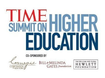 LIVE STREAM: TIME Summit on Higher Education - TIME | JRD's higher education future | Scoop.it