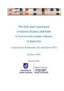 The role and importance of Islamic studies and faith in community Islamic schools in Australia | Education Reports | Scoop.it