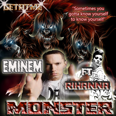 GetAtMe- New Eminem ft Rihanna MONSTER | GetAtMe | Scoop.it