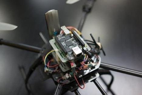 Sky Drone FPV navigates with 3G or 4G/LTE - TG Daily | Raspberry Pi | Scoop.it