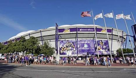 Hold on to your seats: Metrodome relics available for purchase - FS North | Sports Management.4465530 | Scoop.it