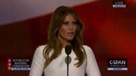 Twitter Shreds Melania Trump's Plagiarized Speech | Communications Major | Scoop.it