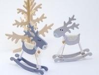 Wooden Christmas Decorations: Christmas Trees - Horses - Raindeer - Angels » Vanilla Moments | Best Gift Ideas | Scoop.it
