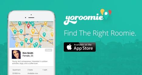 Yoroomie wants to help you find the perfect roommate before you even move   Nouvelles technologies et innovations dans les services à la personne   Scoop.it