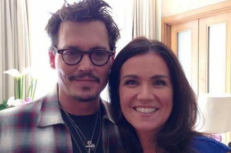 Susanna Reid With Jhony | Susanna Reid Photos | FanPhobia - Celebrities Database | Celebrities and there News | Scoop.it