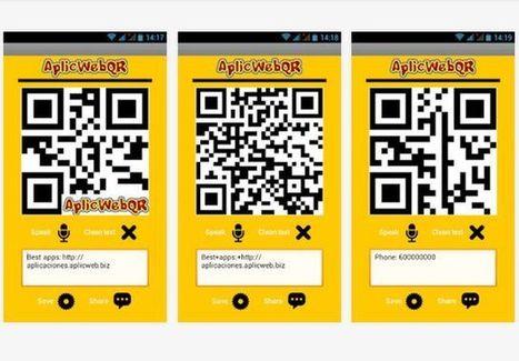 AplicWebQR: app Android gratuita para crear códigos QR | Tic, Tac... y un poquito más | Scoop.it