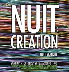 2e Nuit de la Création à Versailles dans le cadre de la Nuit blanche 2013, le 05.11.   MUSÉO, ARTS ET SPECTACLES   Scoop.it
