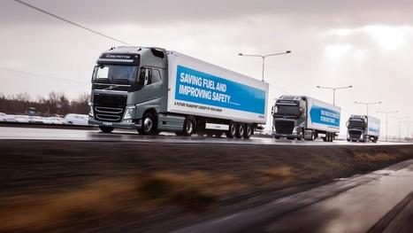 Un convoi de camions autonomes vient de parcourir l'Europe - Tech - Numerama | Pulseo - Centre d'innovation technologique du Grand Dax | Scoop.it