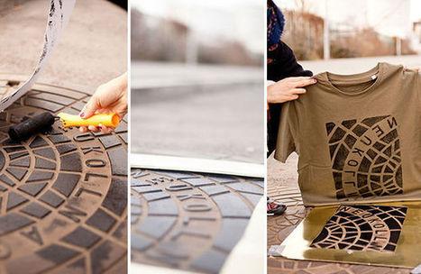 Un collectif d'artistes se sert de plaques d'égout pour imprimer des T-shirts (en images) | Plusieurs idées pour la gestion d'une ville comme Namur | Scoop.it