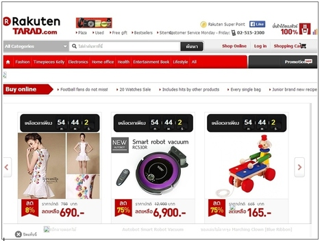 Rakuten Remodels Thai Shopping Site Tarad.Com - Forbes | Ecommerce logistics and start-ups | Scoop.it