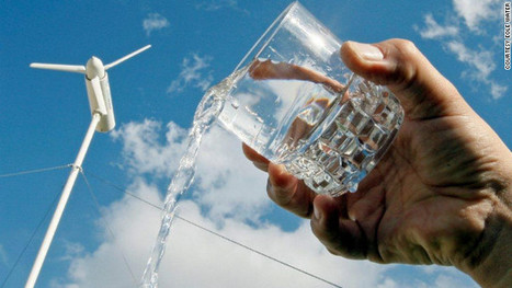 Wind turbine creates water from thin air - CNN.com | All Things Geography | Scoop.it